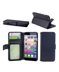 高端品质iphone6手机皮套三卡位带镜框
