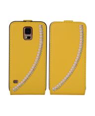 福州上下开三星galaxy s5手机保护套镶珍珠