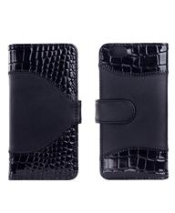 最新款:大面拼接二卡位iphone6手机皮套
