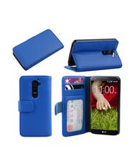福州前支撑3卡位带镜框LG G2手机保护套